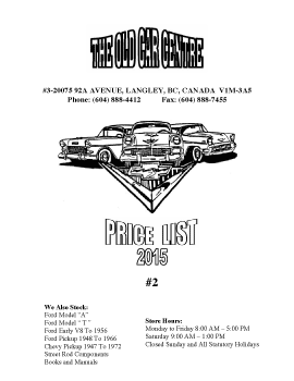 55/56/57 Chevy Catalogue