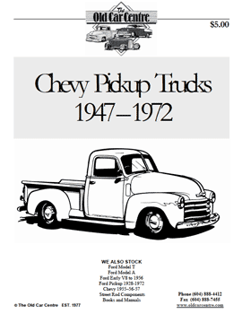 Chevy Pickup Catalogue