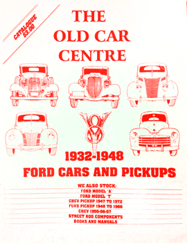 Ford V8 (32-48) Catalogue