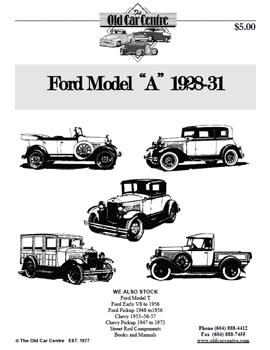 Ford Model 'A' Catalogue